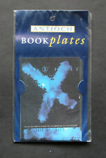 Nice Rare Vintage X files Antioch Book Plates