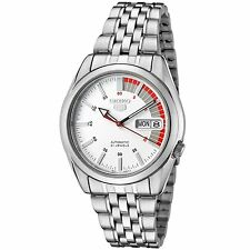 Seiko 5 SNK369 Men's Casual Stainless Steel White Speed Dial Automatic Watch