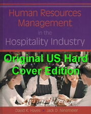 NEW Human Resources Management in the Hospitality Industry David Hayes Ninemeier