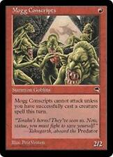 Mogg Conscripts NM Tempest MTG Magic The Gathering Red English Card