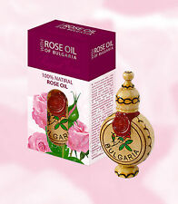 100% PURE AND NATURAL BULGARIAN ROSE OIL 1.2ML