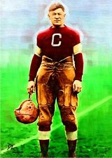 Jim Thorpe Canton Bulldogs Artist Sketch Card - Limited 6/10 *David Lee Signed*