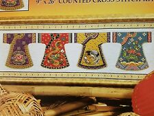 Design Works Cross Stitch Kit Kimono Row #2377 by Joan Elliott