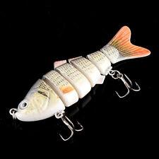 Wobbler Fischköder Forelle Kunstköder Fisch Angel Jerkbait Raubfischen Neu 10cm