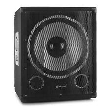 "1000W ACTIVE POWERED PA SUBWOOFER 15"" WOOFER DJ DISCO PRO STAGE SPEAKER SYSTEM"