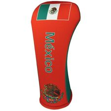 MEXICAN FLAG DRIVER 460CC Golf Club Head Cover Cover Easy ON & Off USA MADE