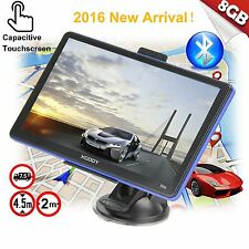 "XGODY 7"" 8GB Truck Car GPS Navigation Sat Nav Capacitive Touchscreen w/Bluetooth"