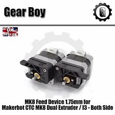 MK8 Feed Device for Makerbot CTC MK8 Dual Extruder / I3 -Both Side