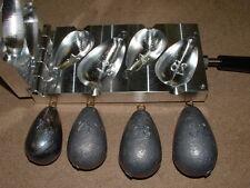 Saltwater Bel Sinker mold 20,24,28,32oz CNC Aluminum Wireline Trolling Bell