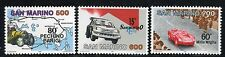 SAN MARINO 1987 MOTORING EVENTS/CARS/RALLY/MAPS/PEKING-PARIS   MNH
