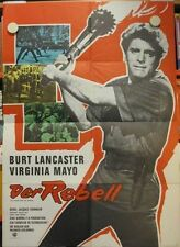 DER REBELL Filmplakat Poster Plakat WA THE FLAME AND THE ARROW Burt Lancaster