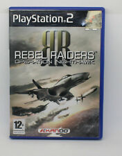 RAIDERS RIBELLE OPERAZIONE NIGHTHAWK SONY PS2 PLAY STATION PS 2