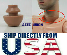 1/6 Custom Male Neck Joint Connector For Hot toys Male Body - U.S.A. SELLER