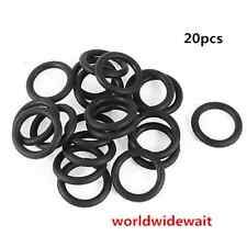 OD. 8mm x 2mm Nitrile Rubber O Ring Oil Seal Grommets 20PCS