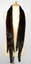 M646 visón estola Pelz guardián Collier fur Mink Stole collar норковая шаль