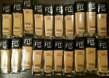 50 x Maybelline Fit Me Dewy+Smooth Mix Shades (LOT OF 50)