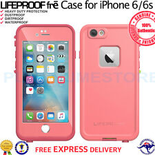 "Genuine LifeProof fre Case for Apple iPhone 6s 4.7"" Shock Waterproof Sunset Pink"