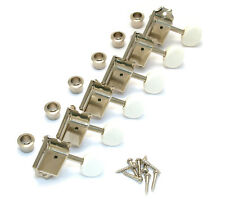 Gotoh Nickel w/White Button Tuners Fender Strat/Tele/Mustang® Guitar TK-0980-001