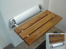 Amerec Steam Bath Generator Teak Wood Shower Seat for Steam Showers