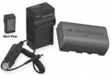 Battery + Charger for JVC GRD746EK GRD746EX GRD750 GR-D746E GRD746E GRD746US