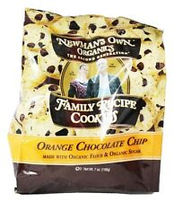 Newman's Own Organics - Family Recipe Cookies Orange Chocolate Chip - 7 oz.