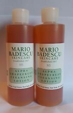 Lot of 2 Mario Badescu Alpha Grapefruit Cleansing Lotion 8oz ea 16oz Total