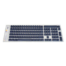 PBT Keycap Set for Cherry MX based Leopold Keyboard  / Blank Non-Printed / Navy