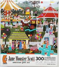 CEACO® 300pc JANE WOOSTER SCOTT • CANDIED APPLES & CANDY CORN • PUZZLE Jig Saw