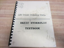 Lift Truck Training BASIC HYDRAULIC Basic Hydraulic Textbook - Used