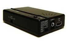 Analog RCA S-Video Stereo Audio To HDMI Converter Scaler Encoder