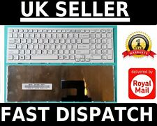 New For Sony Vaio VPC-EH2N1E PCG-71911M Series Laptop US White Keyboard & Frame