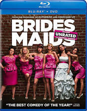 Bridesmaids  Unrated Blu-ray + DVD  2016 by Kristen Wiig; Carnie Wilson; Chynna
