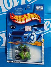 Hot Wheels 2001 First Editions #029 Hyper Mite Green w/ Pink Checkers 5SPs