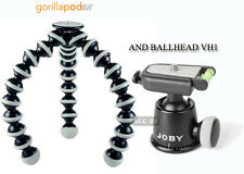 Joby Gorillapod GP3BHEN SLR Zoom Tripod and BH-1 Ball Head With bubble level