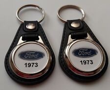 1973 FORD KEYCHAIN 2 PACK CLASSIC TRUCK AND CAR  LOGO