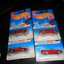 4 CAR LOT 1996 FIRST EDITIONS 1/12 FORD MUSTANG GT 5 HOLE & 5 SPOKE