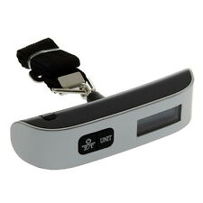 50kg/10g Portable LCD Digital Hanging Luggage Scale Travel Electronic Weight CAF