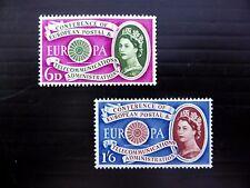 GB 1960 Europa (2) SG621/2 U/M FP8781