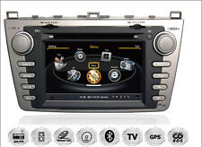 "Mazda 6 7"" TFT Autoradio Navigation GPS DVD MP3 USB SD 3D DVB-T"