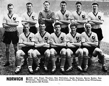 NORWICH CITY FOOTBALL TEAM PHOTO 1959-60 SEASON
