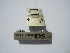 Nintendo DS Lite CONSOLE Super RARE Promo Enamel METAL BOBBLE PIN BADGE Pins DSL