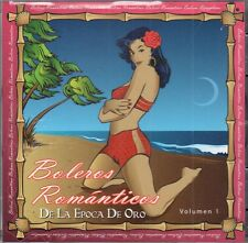 Boleros Romanticos  de la Epoca de Oro   VOL 1  BRAND NEW SEALED CD