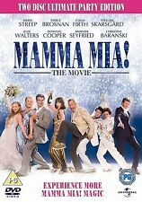 Mamma Mia 2009 Special Edition Meryl Streep, Pierce Brosnan NEW SEALED UK R2 DVD