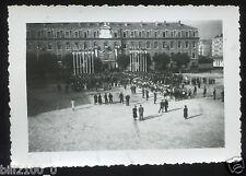 Grenoble. guerre 1939-1945 .fête du régiment. messe en plein air . 1941