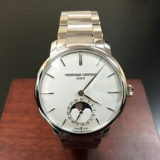 FREDERIQUE CONSTANT SLIMLINE MOONPHASE MENS WATCH FC-705S4S6B2 NEW!!!