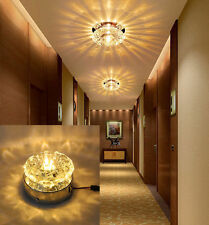 Modern 5W Crystal LED Ceiling Light Fixture Pendant Lamp Lighting Chandelier