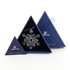 Swarovski Stella di Natale fiocco neve Christmas Ornament 2004 9445 200 401