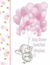 Baby Shower Guest Book : For Girls Elephant Storybook This Makes a Wonderful...