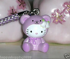 Lovely Hello Kitty Pendant Charm with Strap & Bell for Mobile Phone HK923 - 2CM