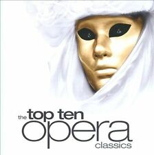 The Top Ten Opera Classics 2011 by Puccini; Handel; Verdi; Bizet; Moz Ex-library